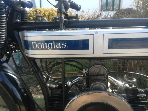 Douglas 2 ¾ HP 350 cc -  1916 For Sale (picture 5 of 6)