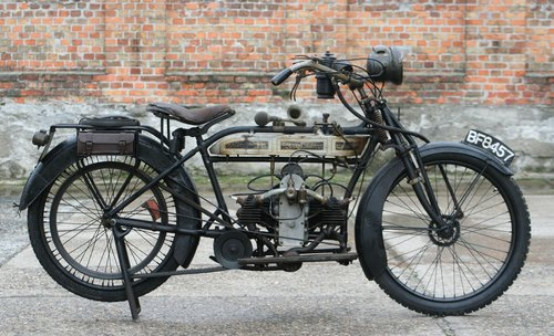 Douglas 350cc 1915 original running condition SOLD (picture 1 of 6)