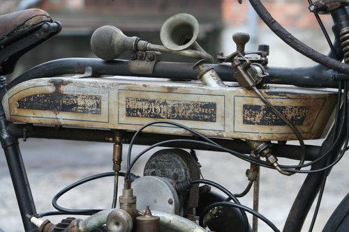 Douglas 350cc 1915 original running condition SOLD (picture 2 of 6)