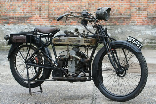 Douglas 350cc 1915 original running condition SOLD (picture 4 of 6)