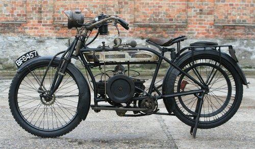 Douglas 350cc 1915 original running condition SOLD (picture 6 of 6)