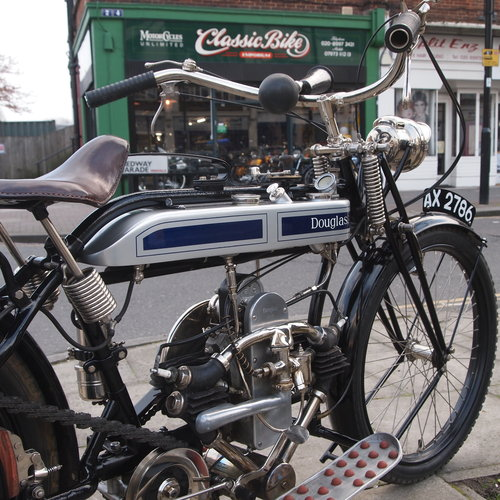 1924 TS350 2 Speed Flat Twin. SOLD TO HAROLD. SOLD (picture 1 of 6)
