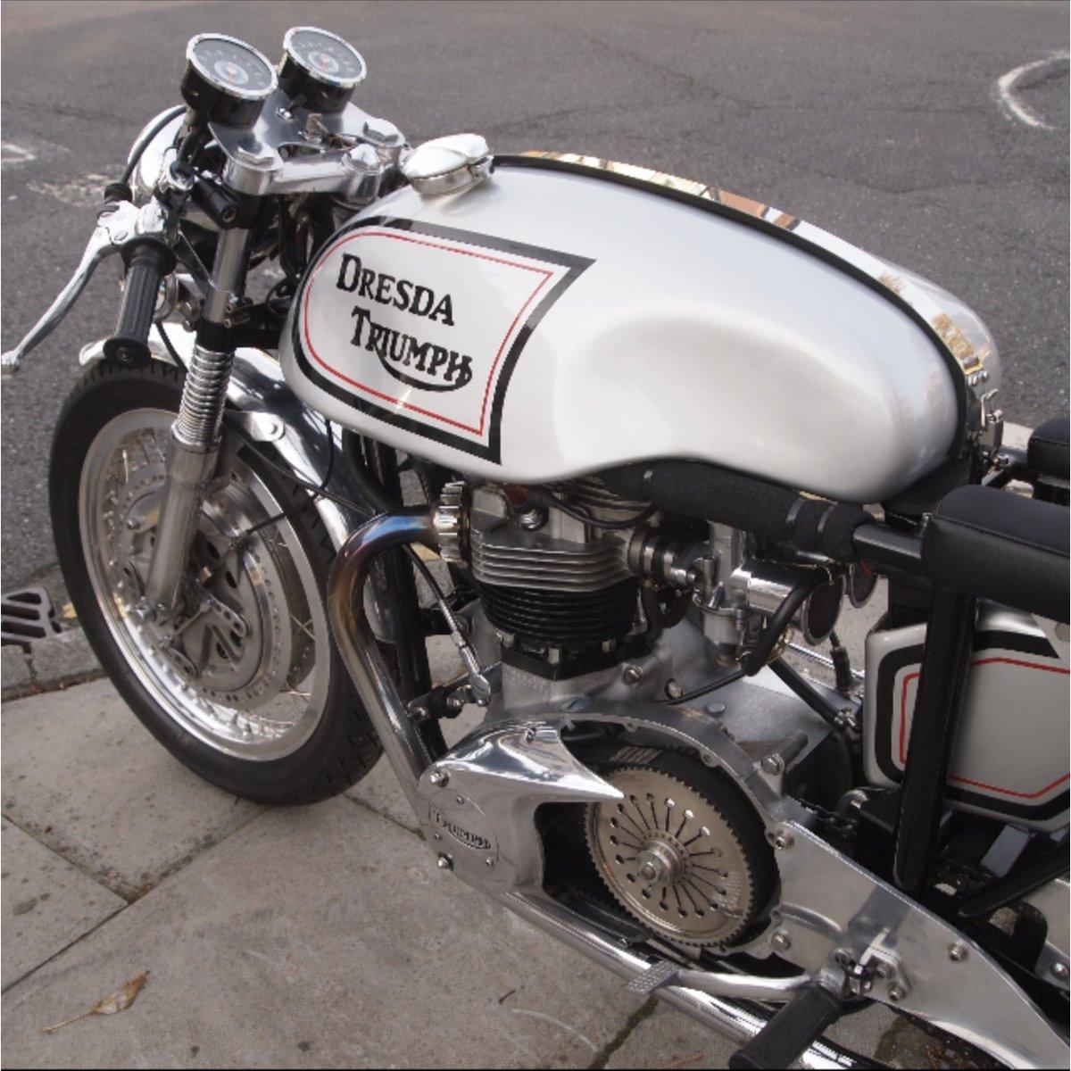 1969 Original dresda bonneville cafe racer For Sale (picture 1 of 6)