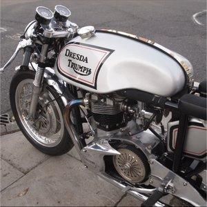 Original dresda bonneville cafe racer