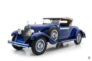 1929 DUPONT MODEL G WATERHOUSE ROADSTER For Sale