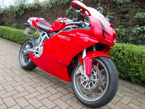 2004 DUCATI 749S.STUNNING AND ORIGINAL.£4975  ono. For Sale (picture 6 of 6)
