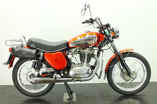 Ducati 450 Scrambler 1975 450cc 1 cyl ohc  For Sale (picture 1 of 6)