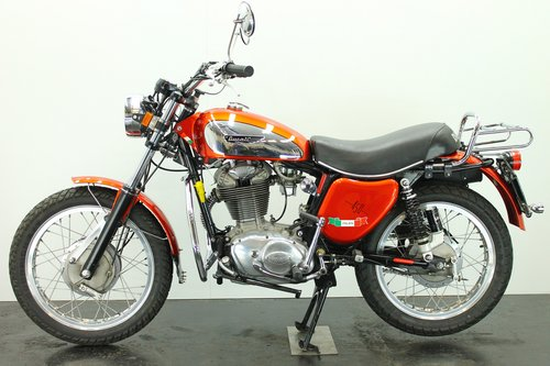 Ducati 450 Scrambler 1975 450cc 1 cyl ohc  For Sale (picture 2 of 6)
