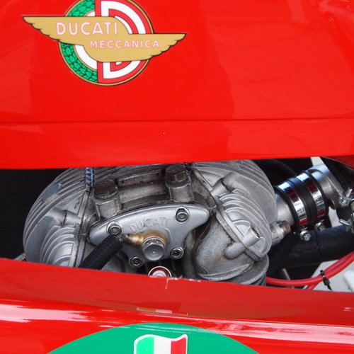 1961 Ducati 250 Race Bike, Restored But Not Used In Years. SOLD (picture 5 of 6)