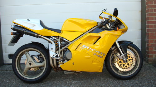 Ducati 748 SP 1997-P **9681 MILES** For Sale (picture 1 of 6)
