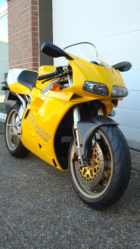 Ducati 748 SP 1997-P **9681 MILES** For Sale (picture 2 of 6)