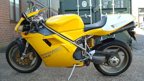 Ducati 748 SP 1997-P **9681 MILES** For Sale (picture 6 of 6)