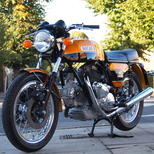 1974 Ducati 750 GT ' RESERVED / SOLD TO MIKE. SOLD (picture 1 of 6)