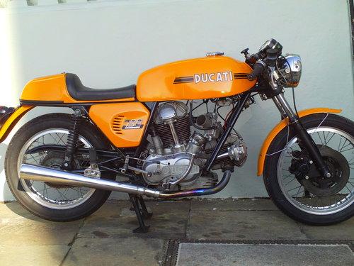1975 DUCATI 750 SPORT ROUNDCASE SOLD (picture 1 of 6)
