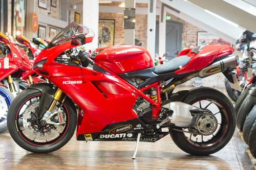 2008 Ducati 1098S High spec low mileage For Sale (picture 6 of 6)