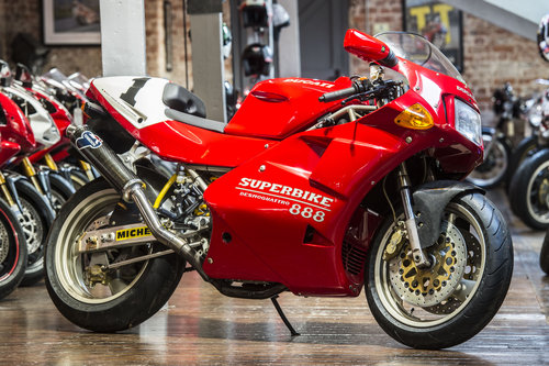1994 Ducati 888 SP5 Number 224 of 500 Concourse Condition For Sale (picture 1 of 6)