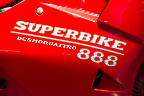 1994 Ducati 888 SP5 Number 224 of 500 Concourse Condition For Sale (picture 2 of 6)