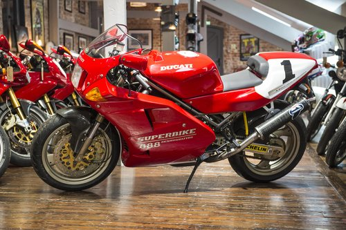 1994 Ducati 888 SP5 Number 224 of 500 Concourse Condition For Sale (picture 6 of 6)