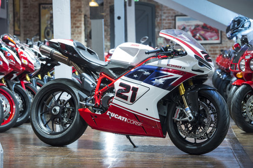 2009 Ducati 1098R Troy Bayliss No: 344 signed by Troy Bayliss For Sale (picture 1 of 6)