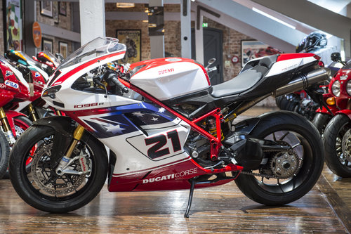 2009 Ducati 1098R Troy Bayliss No: 344 signed by Troy Bayliss For Sale (picture 6 of 6)