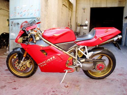 DUCATI (DESMOQUATTRO) 916 BIPOSTO (1996) RESTORED For Sale (picture 1 of 6)