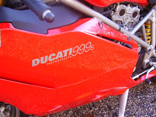 Ducati 999S Mono  (UK bike, 2500 miles) 2003 03 Reg. SOLD (picture 6 of 6)