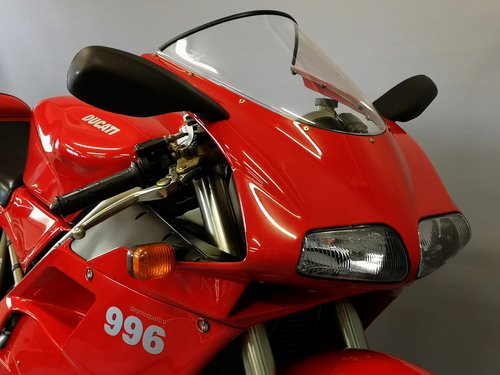 1999 Ducati 996 - Series 1 like new  - One Owner - New Service For Sale (picture 5 of 6)