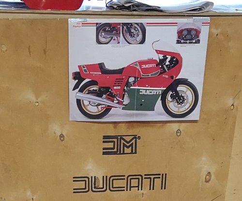1982 Ducati MHR 900 NEW - IN THE BOX !!! For Sale (picture 1 of 6)