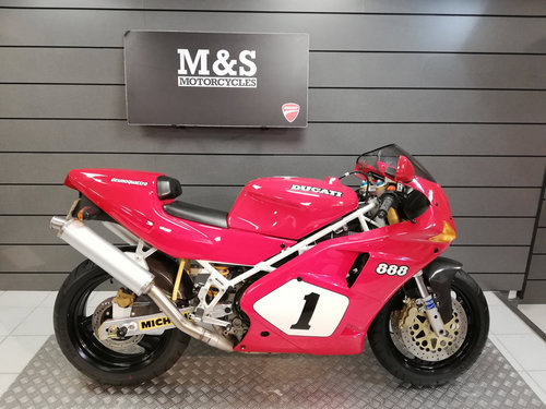 1992 Ducati 888 SP4 limited edition 406/500 SOLD (picture 1 of 6)