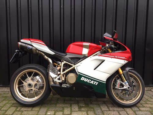 2008 Ducati 1098S Tricolore  For Sale (picture 1 of 6)