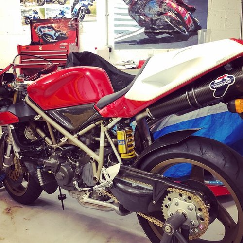1998 Stunning 98 Ducati 916SPS For Sale (picture 6 of 6)