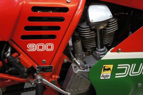 1985 Ducati 900SS Hailwood Replica elec start, UK bike  For Sale (picture 4 of 6)