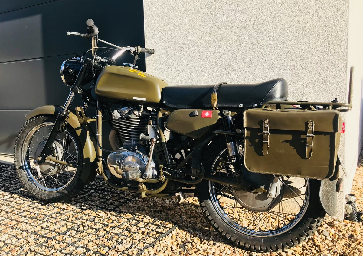 1973 Condor A350 ex-Swiss army, Ducati 350 engine SOLD (picture 3 of 6)
