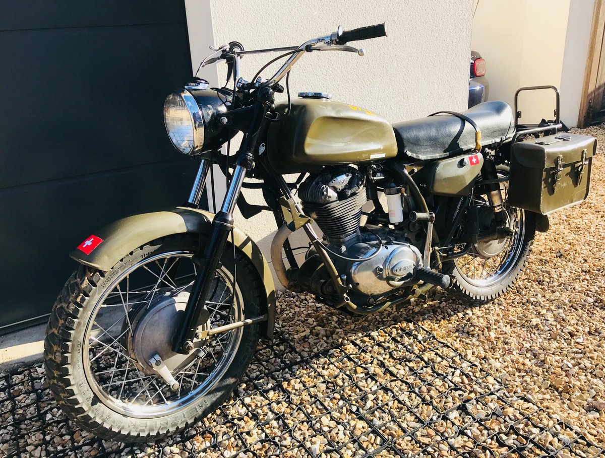 1973 Condor A350 ex-Swiss army, Ducati 350 engine SOLD (picture 4 of 6)