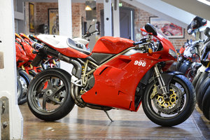 1999 Ducati 996 SPS Low mileage one owner