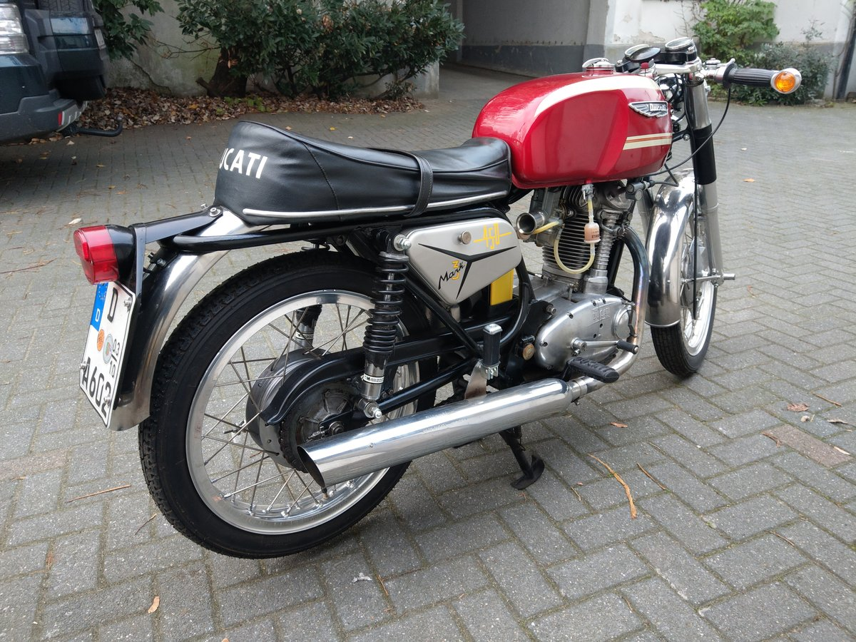 1971 Ducati 450 MK3 in great condition For Sale (picture 2 of 5)