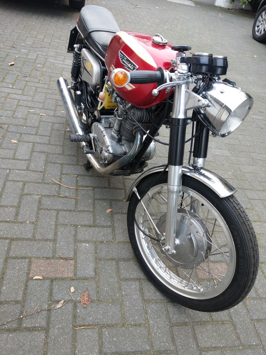 1971 Ducati 450 MK3 in great condition For Sale (picture 3 of 5)