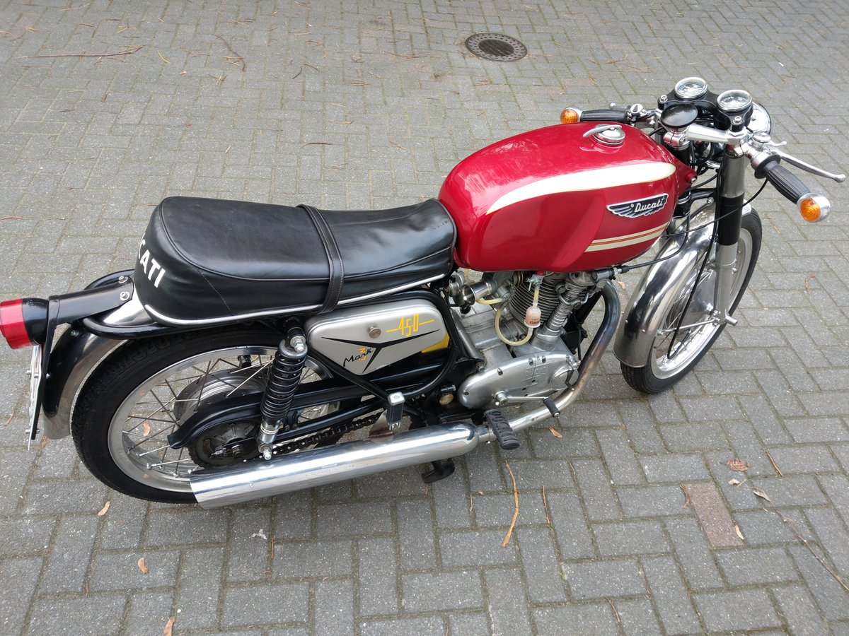 1971 Ducati 450 MK3 in great condition For Sale (picture 5 of 5)