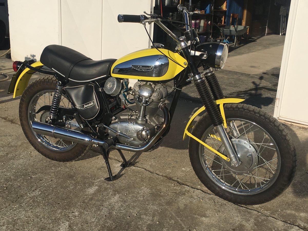 1969 Ducati 250 Scrambler For Sale (picture 2 of 6)