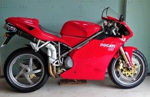 2002 Ducati 998 Bip 1700 miles pristine condition