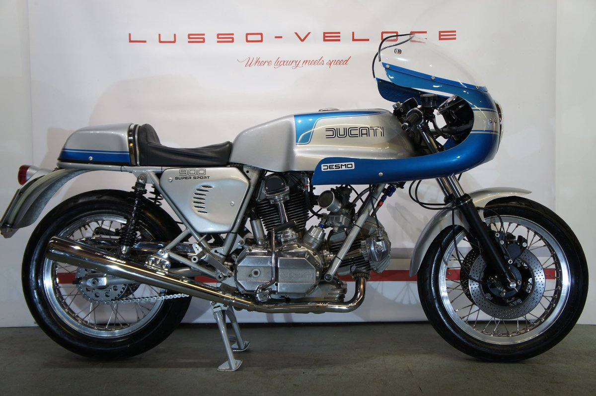1977 Ducati 900 SS bevel, UK bike 9000 miles  For Sale (picture 1 of 6)