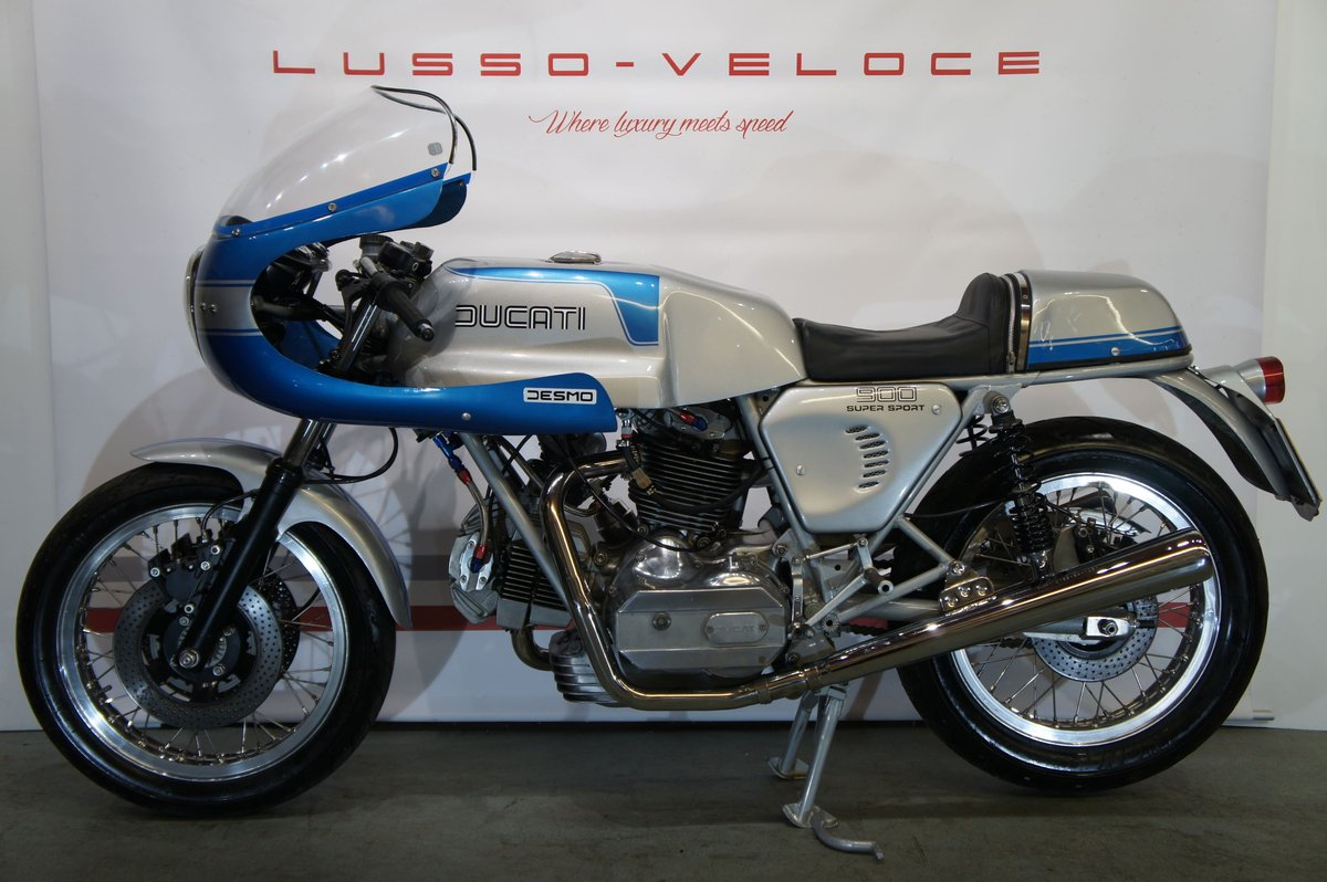 1977 Ducati 900 SS bevel, UK bike 9000 miles  For Sale (picture 2 of 6)