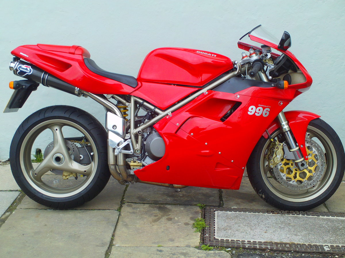 1999 DUCATI 996 BIPOSTO SOLD (picture 1 of 6)