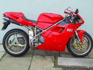 1999 DUCATI 996 BIPOSTO SOLD