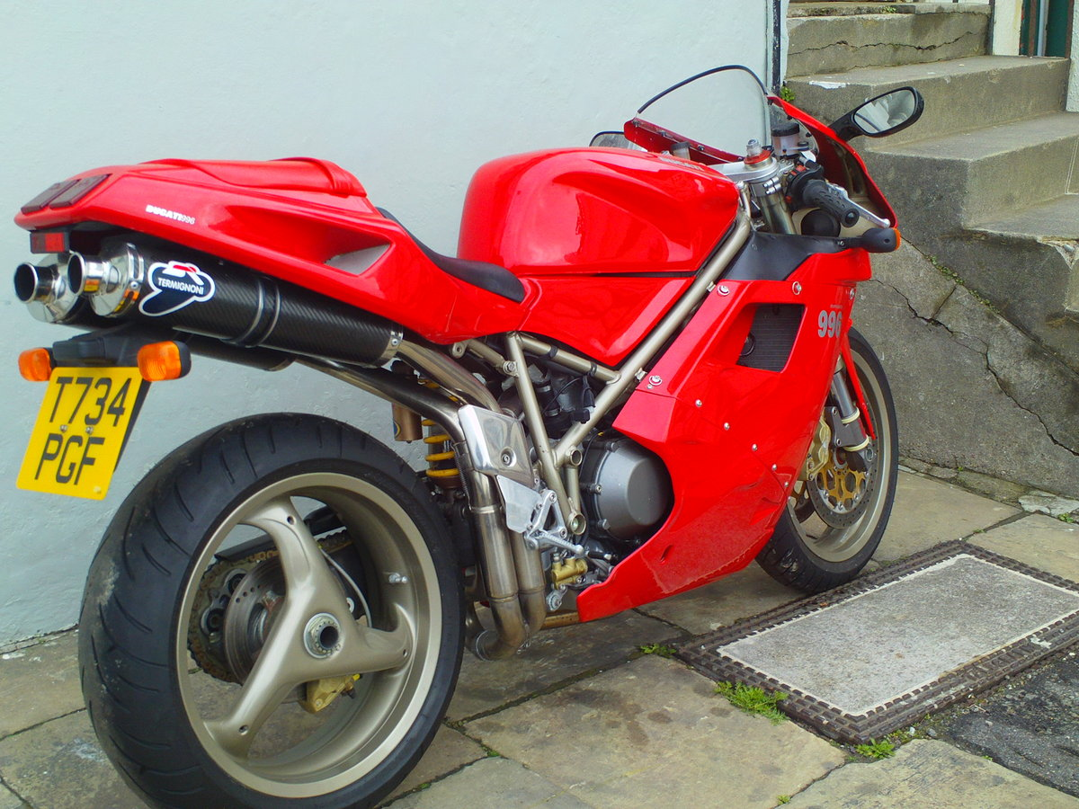 1999 DUCATI 996 BIPOSTO SOLD (picture 2 of 6)