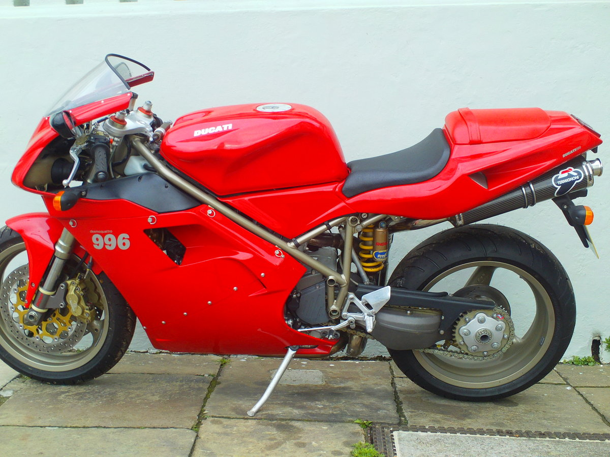 1999 DUCATI 996 BIPOSTO SOLD (picture 3 of 6)