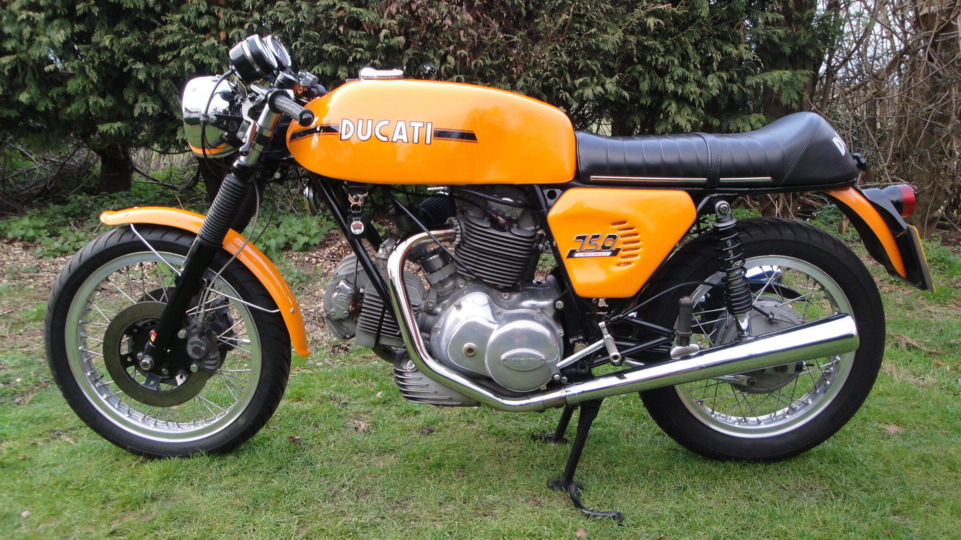 DUCATI 750 SPORT 1975 UK SUPPLIED. 1 PREV. OWNER. For Sale (picture 2 of 6)