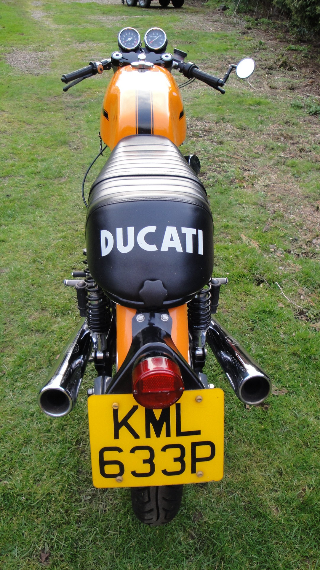DUCATI 750 SPORT 1975 UK SUPPLIED. 1 PREV. OWNER. For Sale (picture 3 of 6)