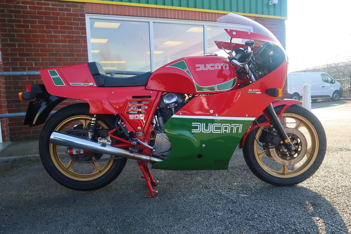 1984 Ducati 900S2 MHR Mike Hailwood Replica  For Sale (picture 2 of 6)