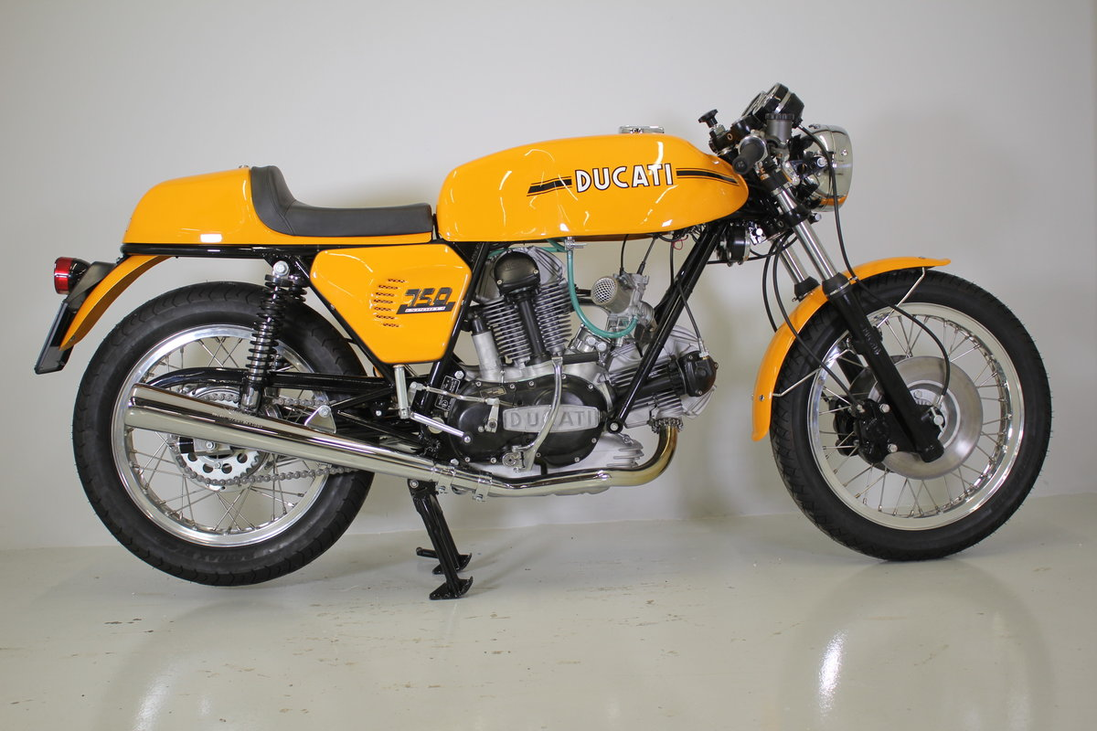 1973 Ducati 750 sport fully restored. For Sale (picture 1 of 5)
